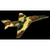 A-4 SKYHAWK CAMO PLANE PIN DX