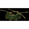 CH-46 SEA KNIGHT HELICOPTER GREEN PHROG PIN