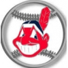 CLEVELAND INDIANS LOGO CUT OUT PIN
