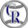 COLORADO ROCKIES LOGO CUT OUT PIN