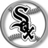 CHICAGO WHITE SOX LOGO CUT OUT PIN