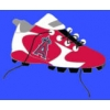 ANAHEIM ANGELS CLEATS PIN