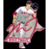 ANAHEIM ANGELS MIKE TROUT SIGNATURE ACTION PIN