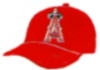 ANAHEIM ANGELS PIN TEAM CAP ANGELS PIN