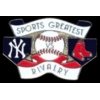 A SPORTS GREATEST RIVALRY NEW YORK YANKEES AND BOSTON RED SOX PIN