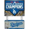 Los Angeles Dodgers 2020 World Series Championship Dangle Banner Pin