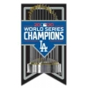 Los Angeles Dodgers 2020 World Series Champion Trophy Banner Pin