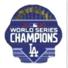 Los Angeles Dodgers 2020 World Series Champion with Pennants Pin