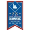 Los Angeles Dodgers 2020 World Series Championship Years Banner Pin