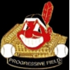 CLEVELAND INDIANS PROGRESSIVE FIELD STADIUM PIN