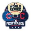 CHICAGO CUBS INDIANS 2016 WORLD SERIES MATCH UP PIN