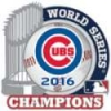 CHICAGO CUBS 2016 WORLD SERIES CHAMPION TROPHY PIN
