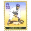 JACKIE ROBINSON BASEBALL LEGEND STAMP PIN