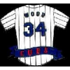 CHICAGO CUBS KERRY WOOD TEAM JERSEY