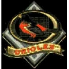 BALTIMORE ORIOLES GRID PIN