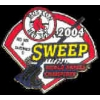 BOSTON RED SOX 2004 SWEEP WORLD SERIES RED SOX PIN