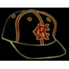 KANSAS CITY MONARCHS BLACK HAT NEGRO LEAGUE PIN