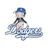 LOS ANGELES DODGERS BETTY BOOP PIN