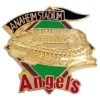 CALIFORNIA ANGELS ANAHEIM STADIUM THE BIG A BANNER PIN