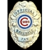 CHICAGO CUBS FAN BADGE PIN