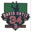 "Boston Red Sox David Ortiz ""Big Papi"" Final Season Pin"