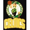 BOSTON CELTICS LOGO AND WORD PIN