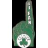 BOSTON CELTICS FAN PIN