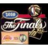 CELTICS LAKERS 2010 NBA FINALS AO PIN