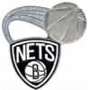 BROOKLYN NETS PIN GLITTER BALL NETS PIN