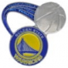 GOLDEN STATE WARRIORS GLITTER BALL WARRIORS PIN