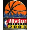 BASKETBALL NBA 2003 ALL STAR GAME ATLANTA