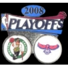 BOSTON CELTICS ATLANTA HAWKS 2008 PLAYOFF PIN