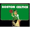 BOSTON CELTICS PIN LOGO SQ PIN