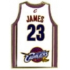 CLEVELAND CAVALIERS LEBRON JAMES JERSEY PIN