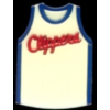 LOS ANGELES CLIPPERS PIN TEAM JERSEY CLIPPERS PIN