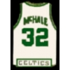 BOSTON CELTICS KEVIN MCHALE JERSEY PIN