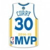 GOLDEN STATE WARRIORS STEPHEN CURRY PIN MVP 2014-15 PIN