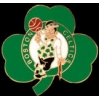 BOSTON CELTICS LEPRECHAUN SHAMROCK PIN