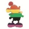 DISNEY PIN MICKEY MOUSE PRIDE MICKEY RAINBOW LGBT COLORS PIN