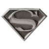 SUPERMAN LOGO PEWTER DC COMICS LAPEL PIN