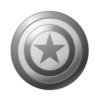 CAPTAIN AMERICA SHIELD  3D MARVEL COMICS LAPEL  HAT PIN