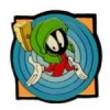 MARVIN THE MARTIAN PIN MARVIN  LOONEY TUNES TARGET PINS
