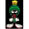 MARVIN THE MARTIAN PIN GLITTER FREEFORM MARVIN THE MARTIAN LOONEY TUNE PIN