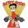 BETTY BOOP PIN WITH PUDGY ON RED CARPET PIN