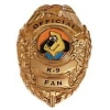 UNDERDOG OFFICIAL K-9 FAN BADGE PIN