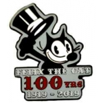 Felix the Cat Pin 100th Centennial Anniversary Limited Edition Collector Pin