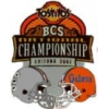 BCS CHAMPIONSHIP 2007 GAME DAY PIN U OHIO STATE VS U FLORIDA HEAD TO HEAD PIN