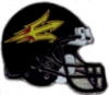U ARIZONA STATE PIN SUN DEVILS FOOTBALL HELMET PIN