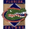 U FLORIDA GATORS PIN DIAMOND SQUARE UNIVERSITY OF FLORIDA PIN