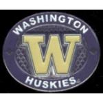 U WASHINGTON HUSKIES PIN WINNING OVAL UNIVERSITY OF WASHINGTON PINS